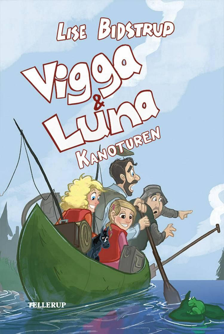 Vigga & Luna - kanoturen af Lise Bidstrup