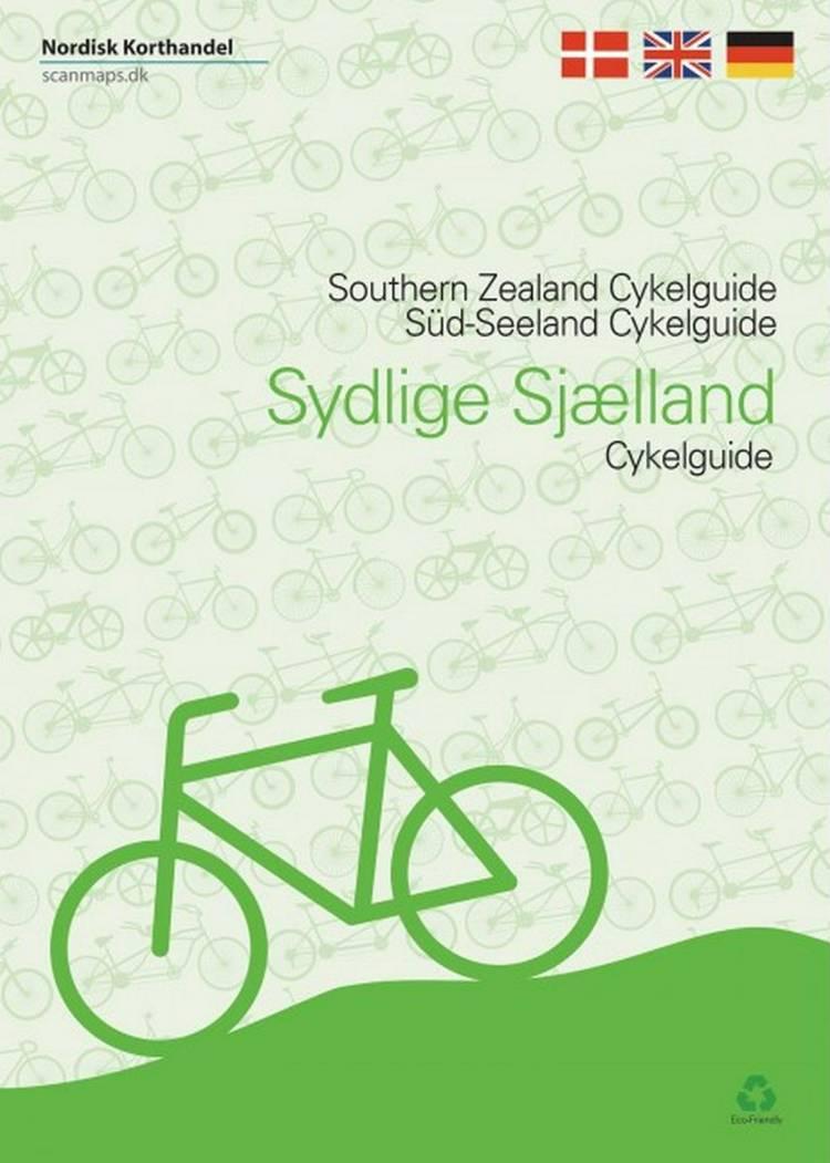 Cykelguide Sydlige Sjælland, Møn, Lolland og Falster af Jens Erik Larsen