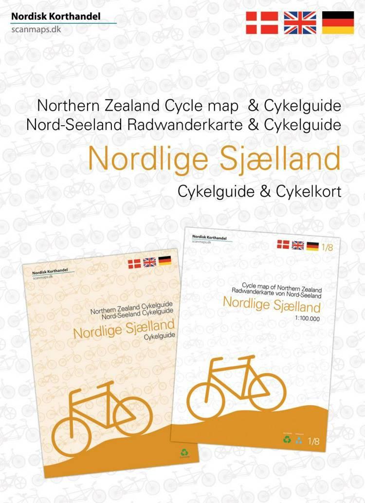 Cykelkort og guide Nordlige Sjælland