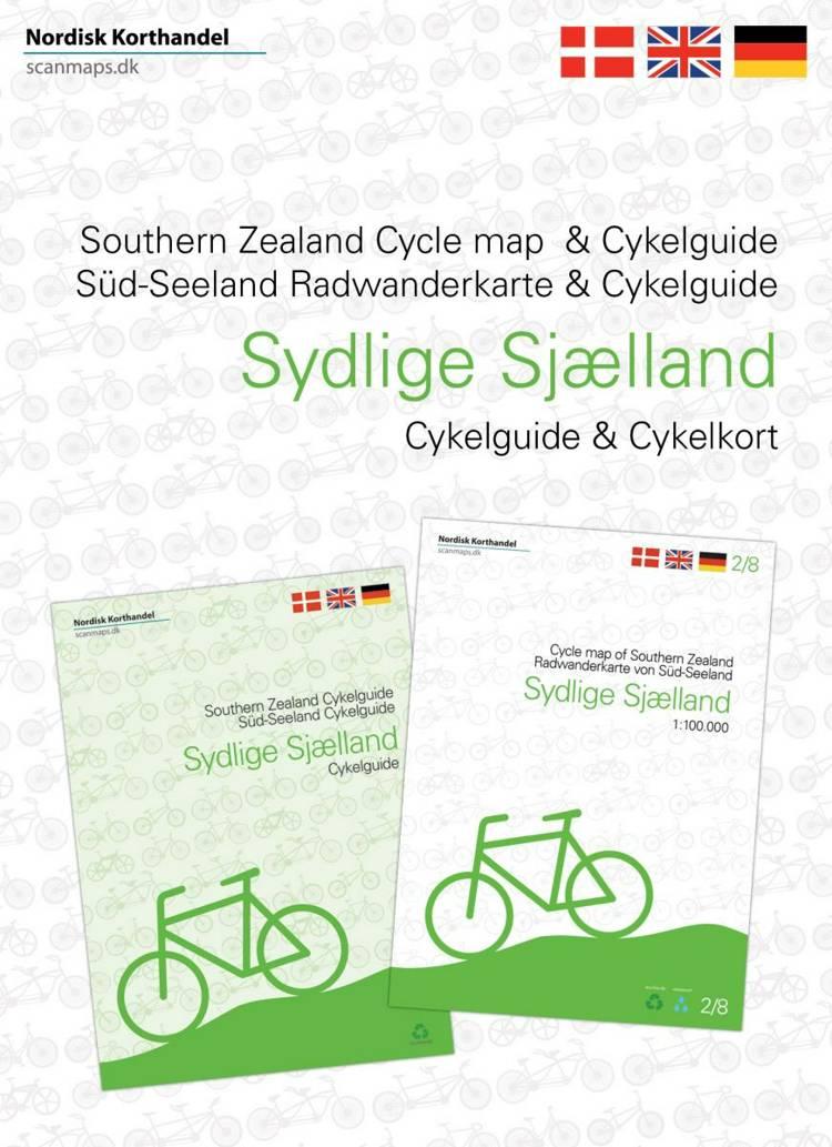 Cykelkort og guide Sydlige Sjælland, Møn, Lolland og Falster