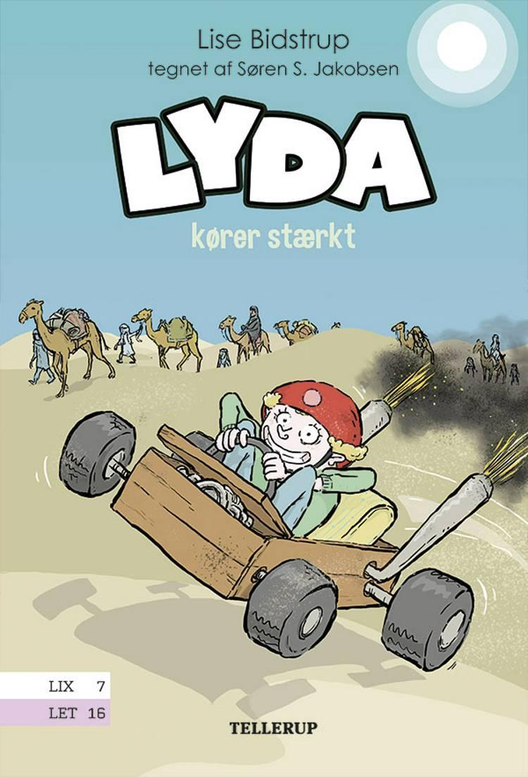 Lyda kører stærkt af Lise Bidstrup