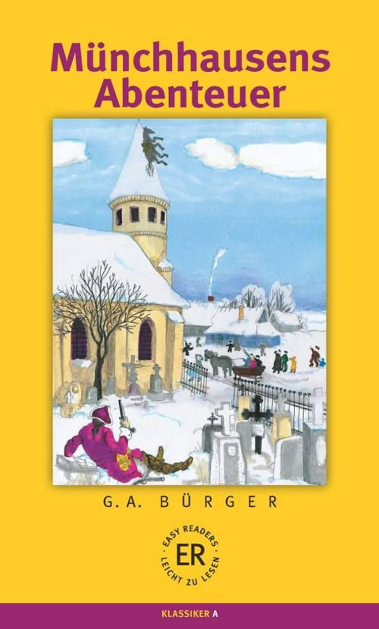 Münchhausens Abenteuer af K. F. Münchhausen og G.A. Bürger