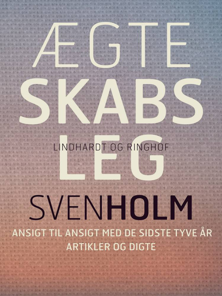 Ægteskabsleg af Sven Holm