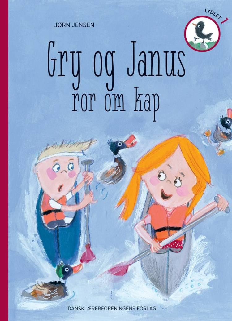 Gry og Janus ror om kap af Jørn Jensen