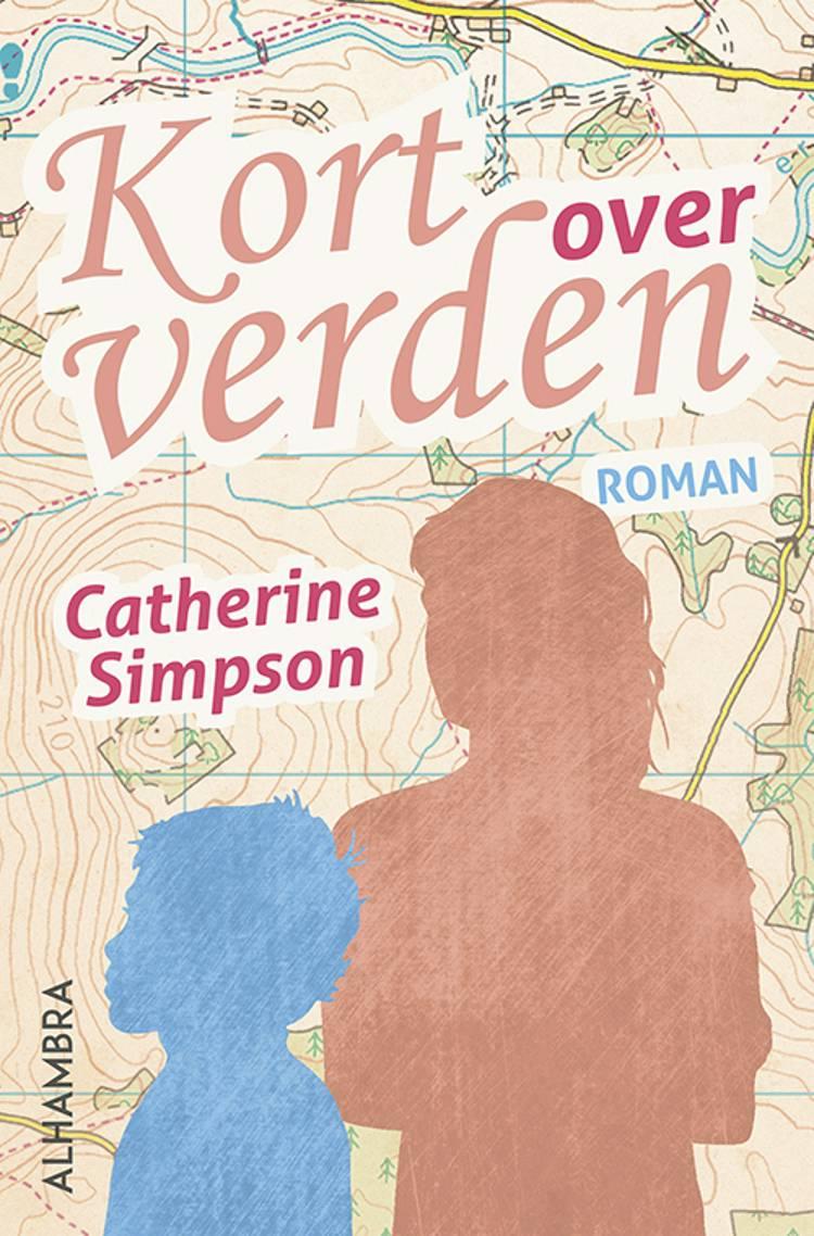 Kort over verden af Catherine Simpson