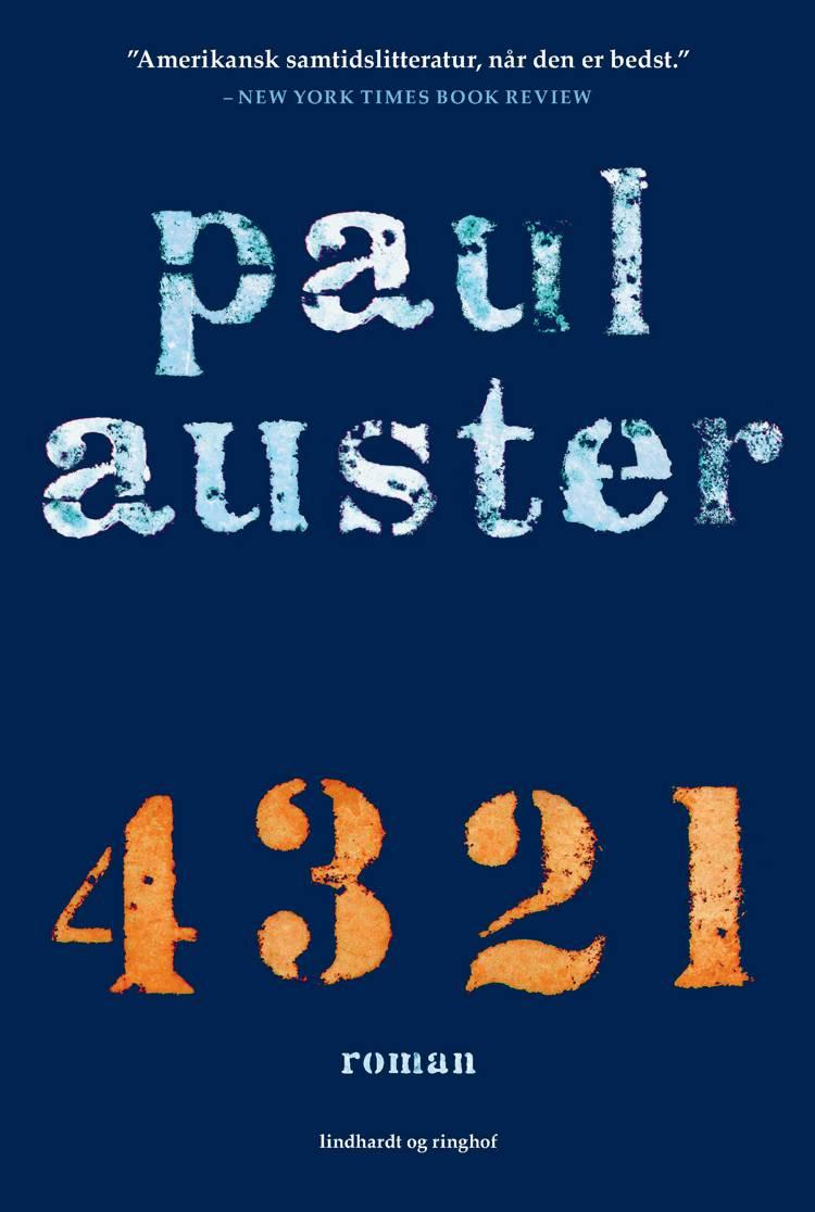 4 3 2 1 af Paul Auster