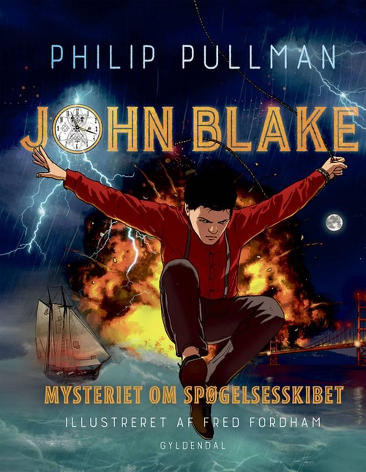 John Blake - mysteriet om spøgelsesskibet af Philip Pullman