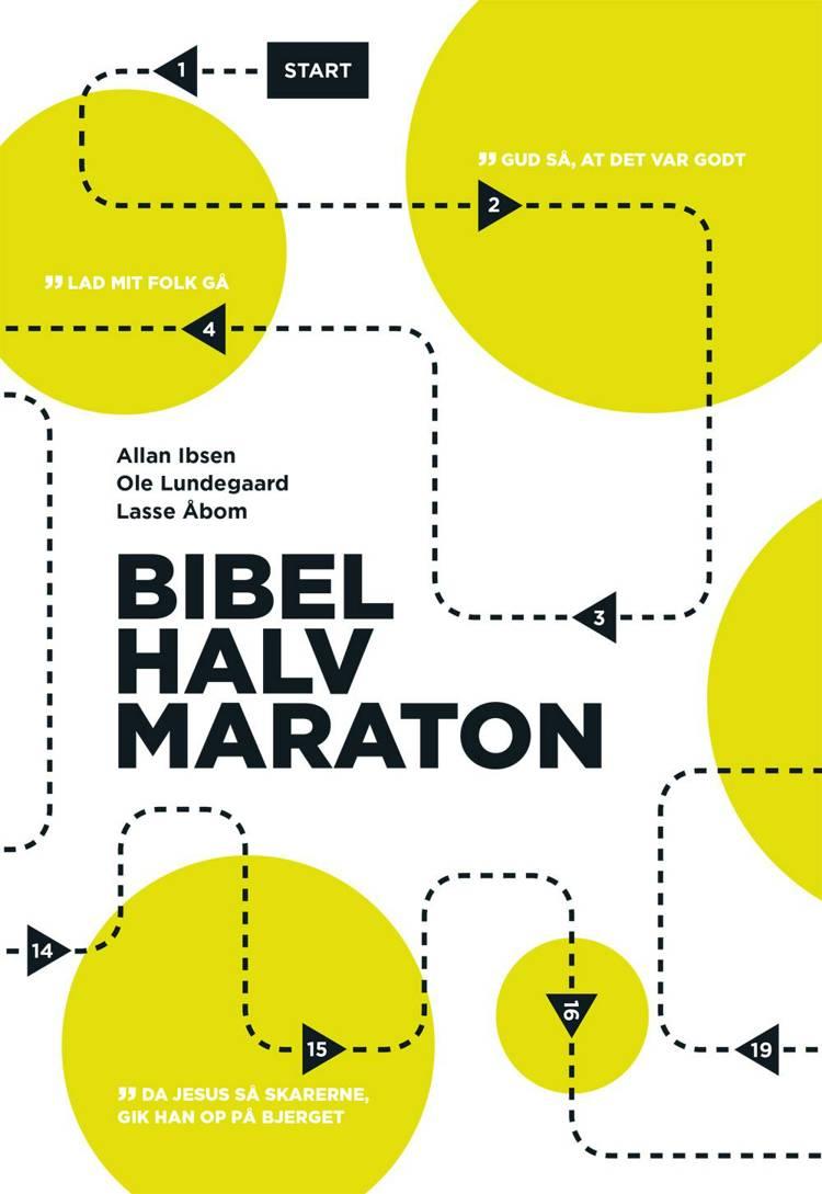Bibelhalvmarathon af Ole Lundegaard, Allan Ibsen og Lasse Åbom