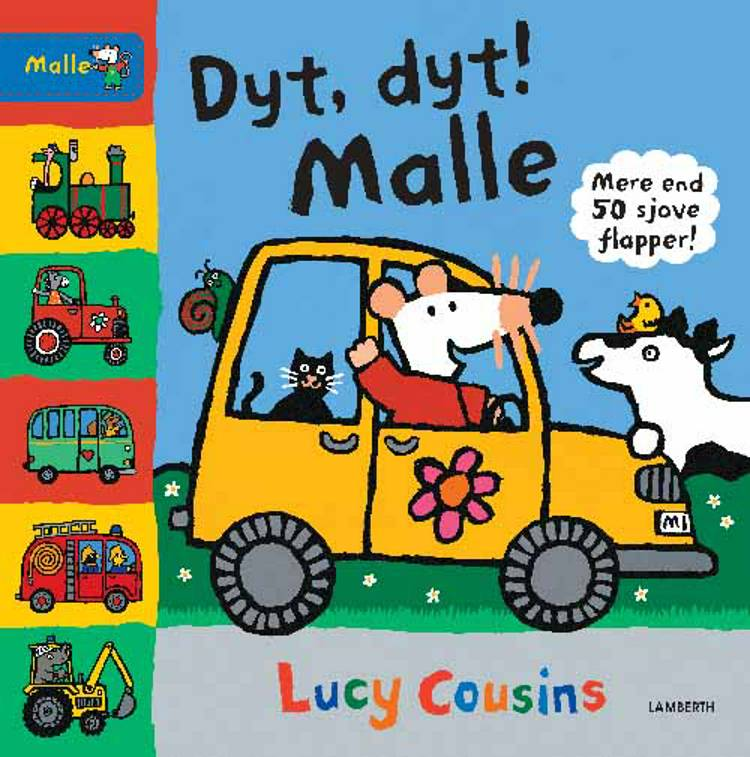 Dyt, dyt! Malle af Lucy Cousins