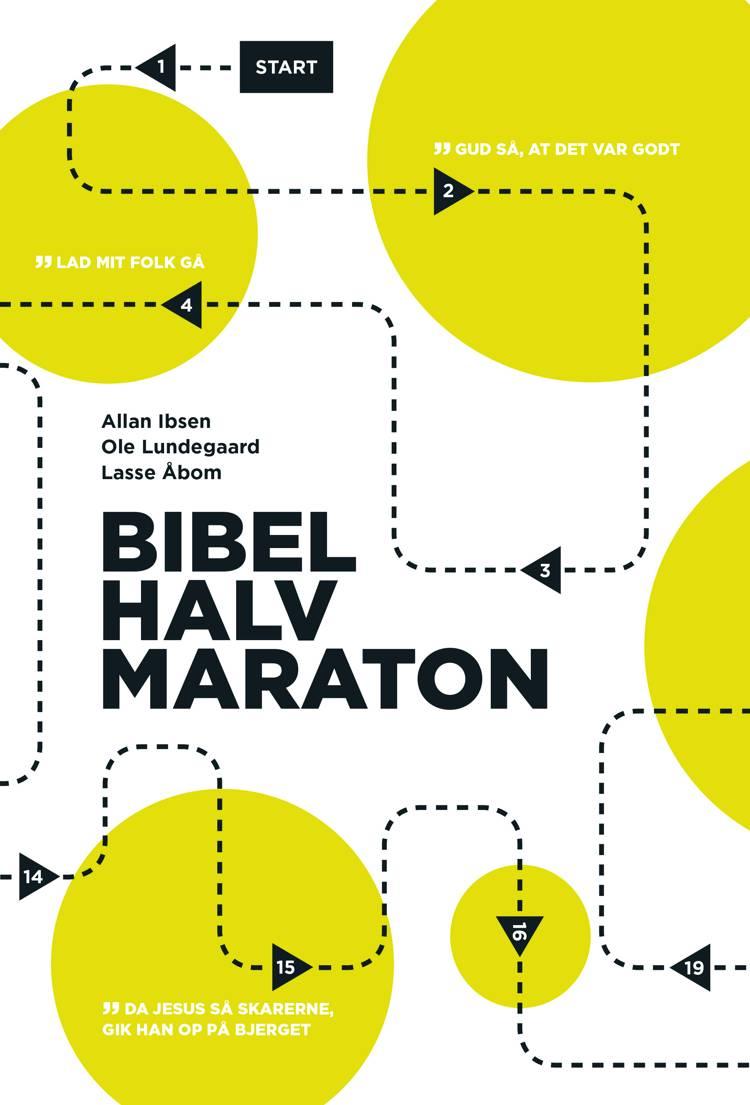 Bibelhalvmaraton af Ole Lundegaard, Allan Ibsen og Lasse Åbom