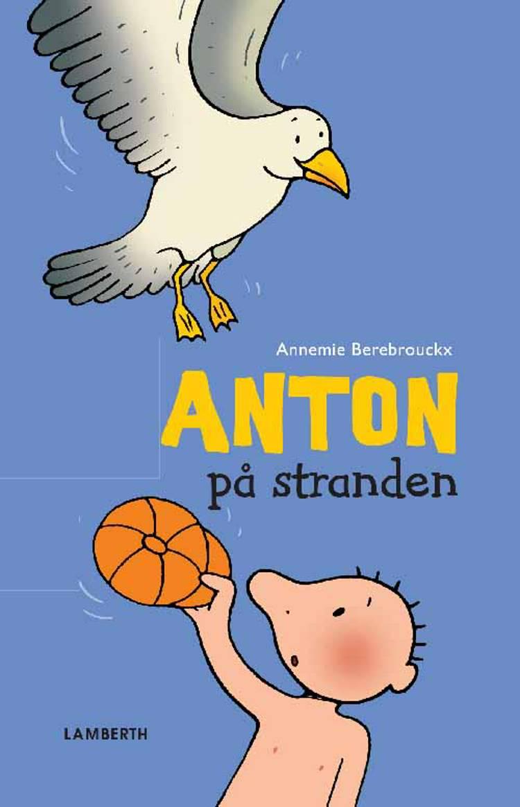 Anton på stranden af Annemie Berebrouckx