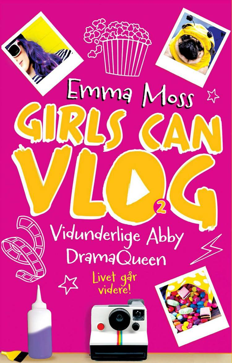 Vidunderlige Abby – Dramaqueen af Emma Moss