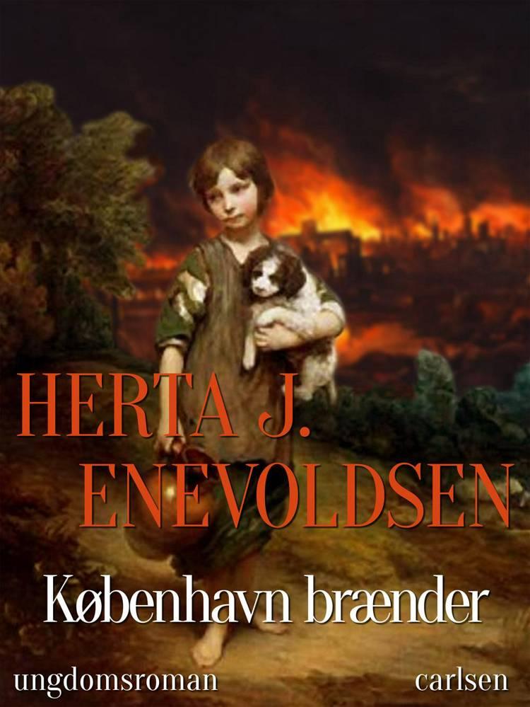 København brænder af Herta J. Enevoldsen