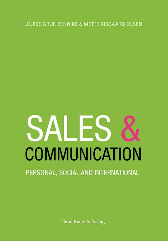 Sales and Communication af Mette Risgaard Olsen og Louise Grue Bennike
