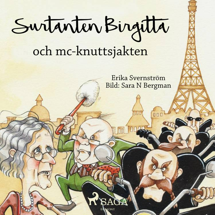 Surtanten Birgitta och mc-knuttsjakten af Erika Svernström