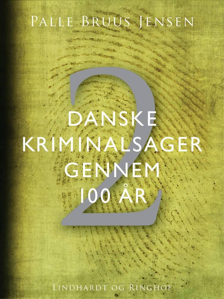 Danske kriminalsager gennem 100 år. Del 2 af Palle Bruus Jensen