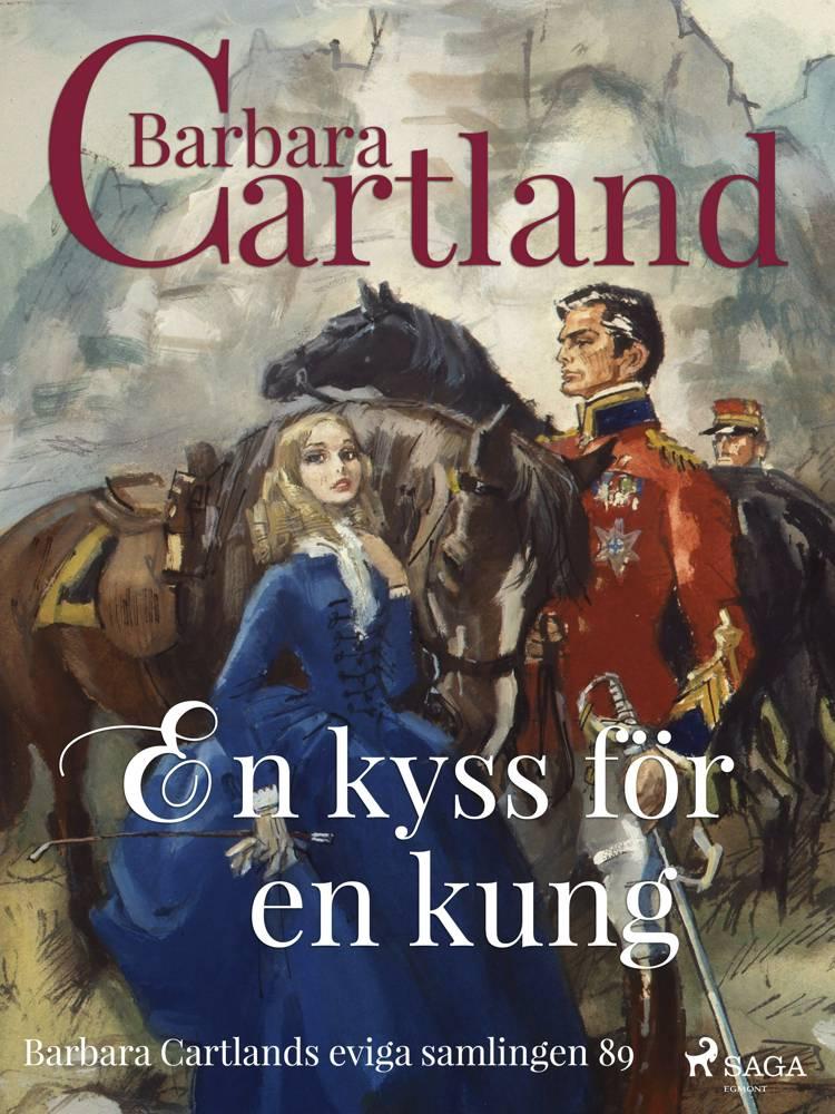 En kyss för en kung af Barbara Cartland