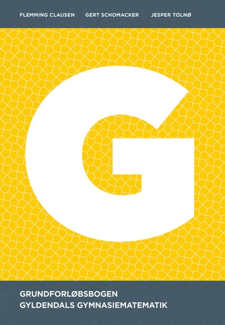 Gyldendals Gymnasiematematik G af Flemming Clausen, Gert Schomacker og Jesper Tolnø
