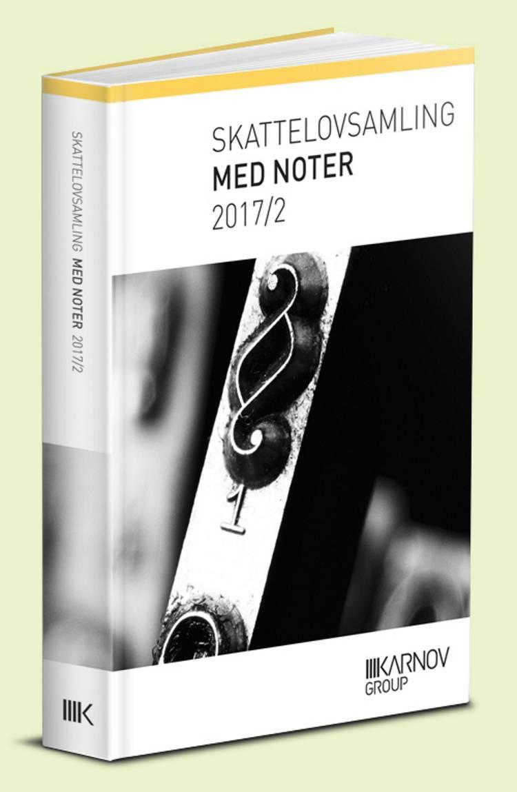 Skattelovsamling med noter 2017/2