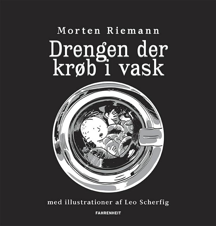 Drengen der krøb i vask af Morten Riemann