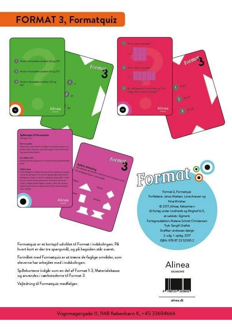 Format 3 af Janus Madsen, Lone Anesen og Nina Winther Arnt