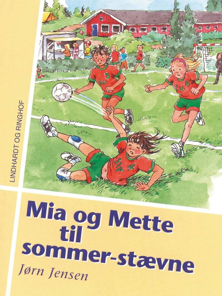 Mia og Mette til sommerstævne af Jørn Jensen