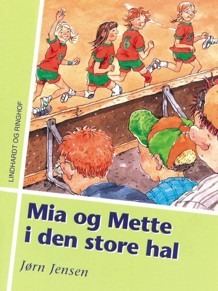 Mia og Mette i den store hal af Jørn Jensen