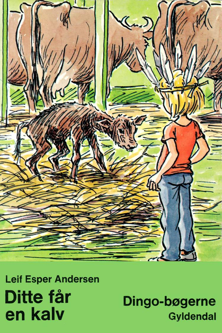Ditte får en kalv af Leif Esper Andersen