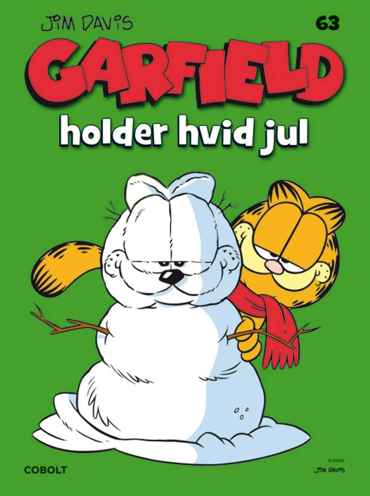 Garfield holder hvid jul af Jim Davis