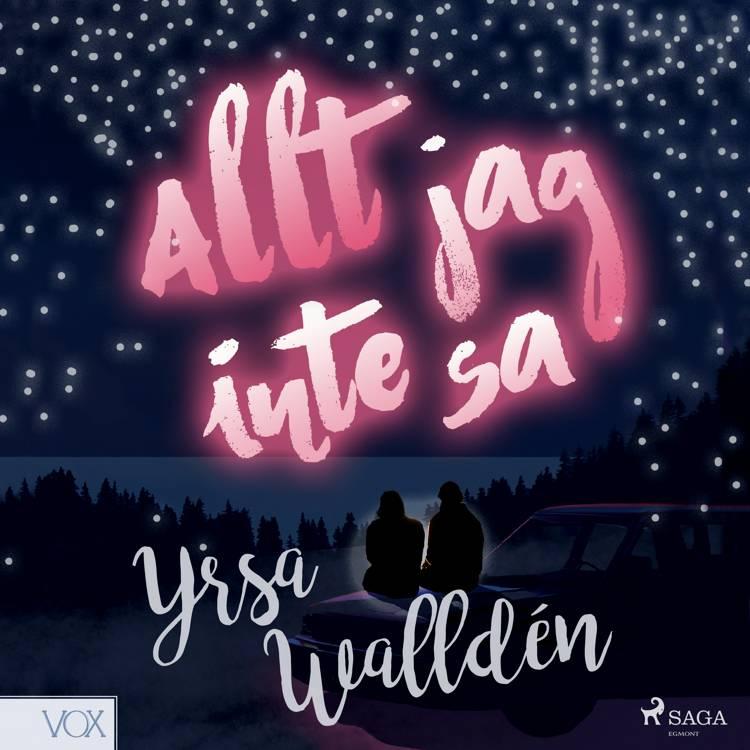 Allt jag inte sa af Yrsa Walldén