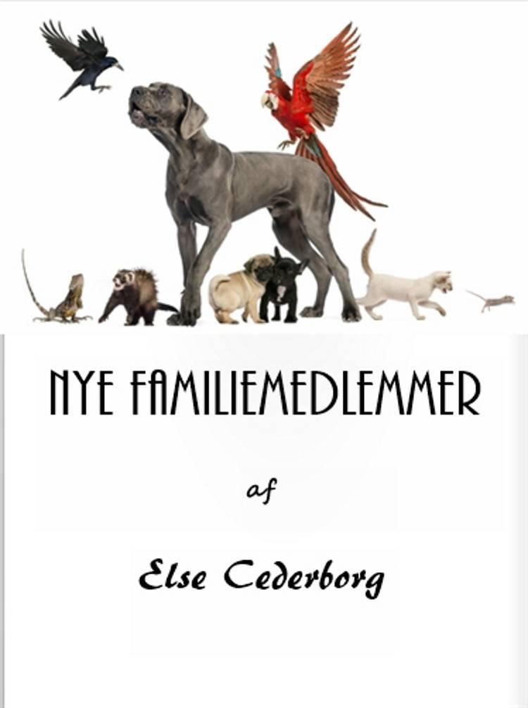 NYE FAMILIEMEDLEMMER af Else Cederborg