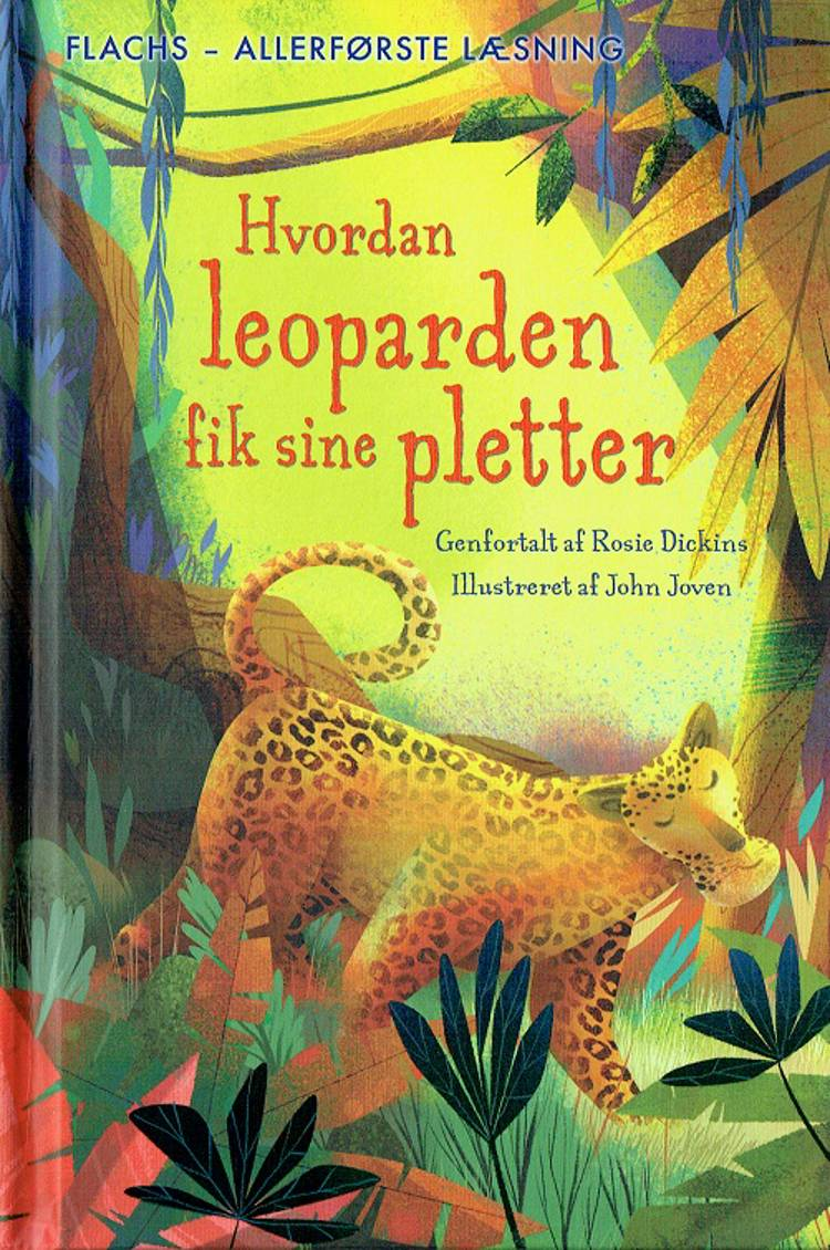 Hvordan leoparden fik sine pletter af Rosie Dickins