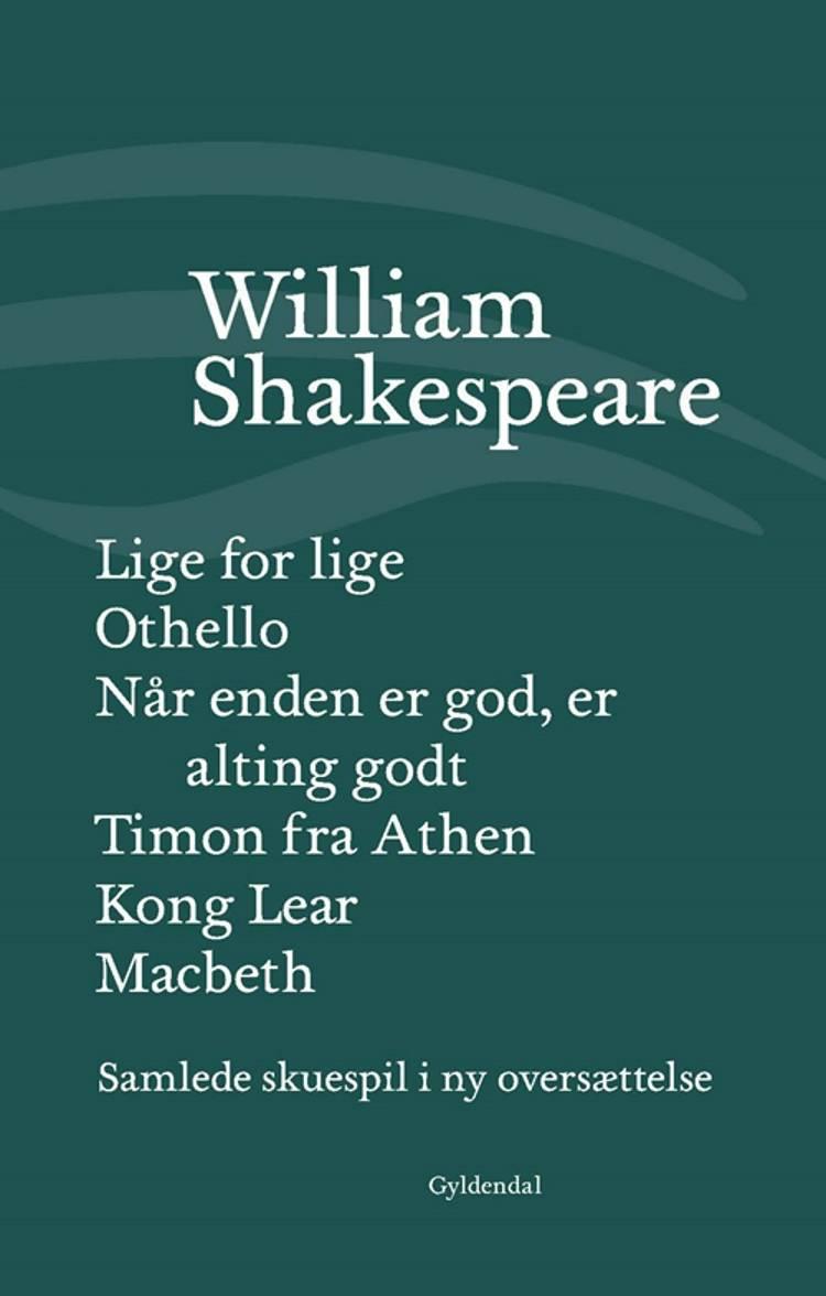 Samlede skuespil V af William Shakespeare