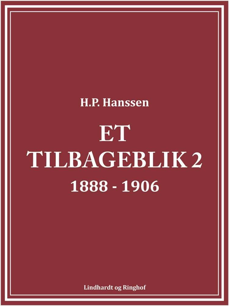 Et tilbageblik 2 af H.P. Hanssen