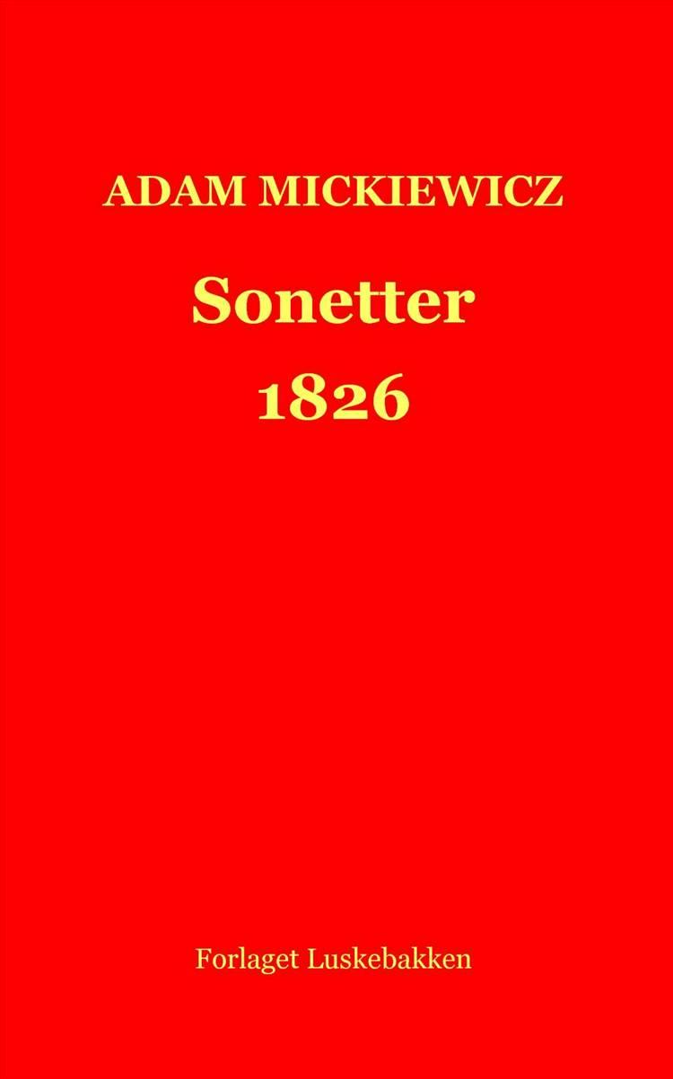 Sonetter 1826 af Adam Mickiewicz