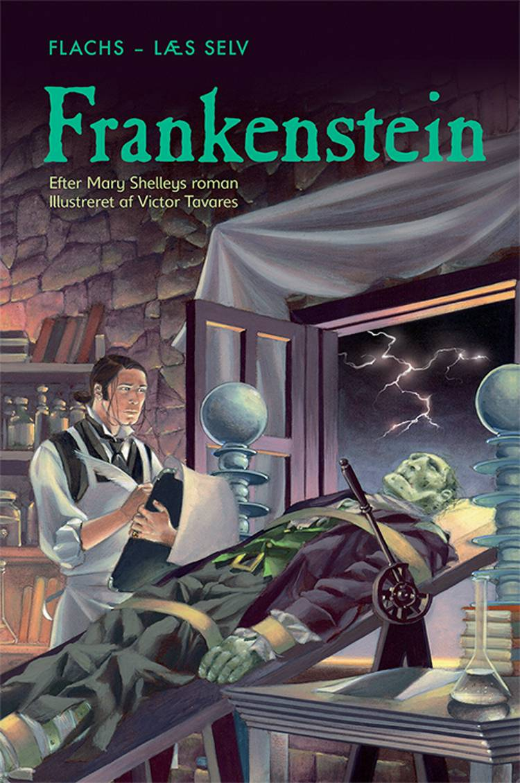 Frankenstein af Mary Shelley og Rosie Dickins