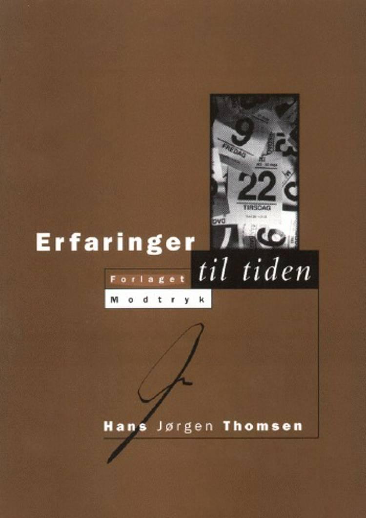 Erfaringer til tiden af Hans Jørgen Thomsen