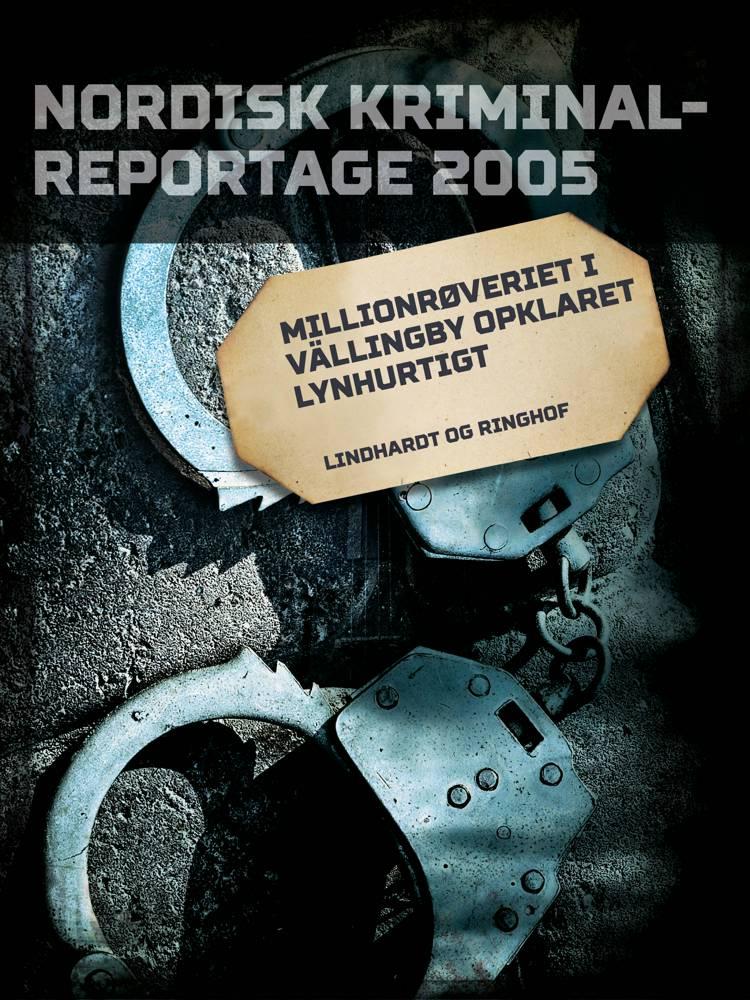 Millionrøveriet i Vällingby opklaret lynhurtigt