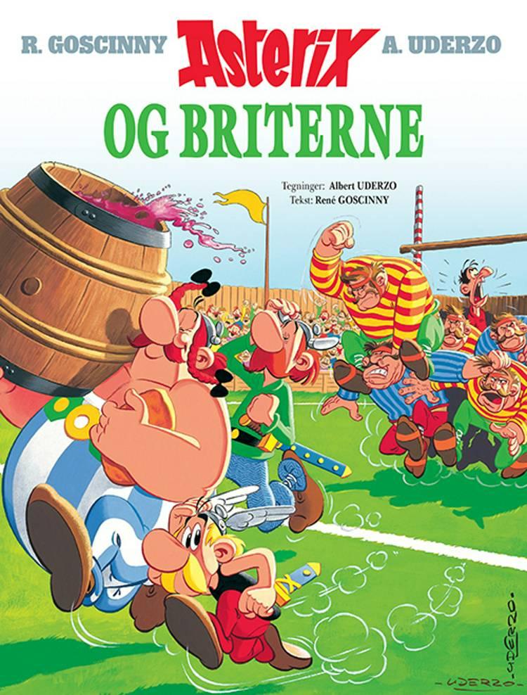 Asterix og briterne af René Goscinny og Albert Uderzo