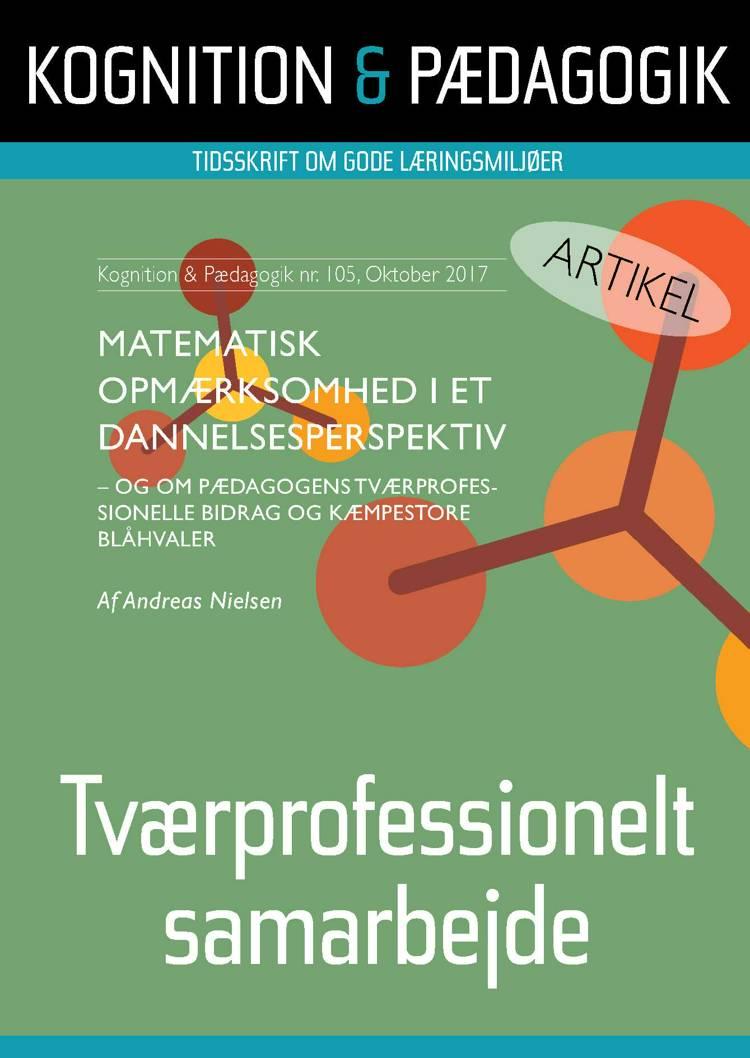 Matematisk opmærksomhed i et dannelsesperspektiv af Andreas Nielsen