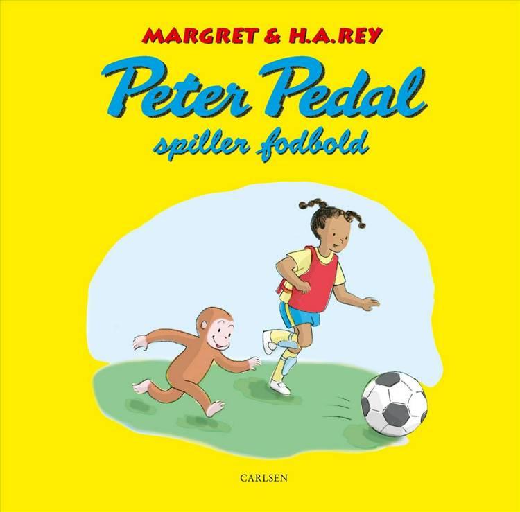 Peter Pedal spiller fodbold af H.A. Rey og Margret Rey