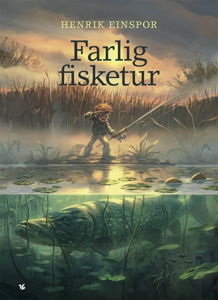 Farlig fisketur af Henrik Einspor