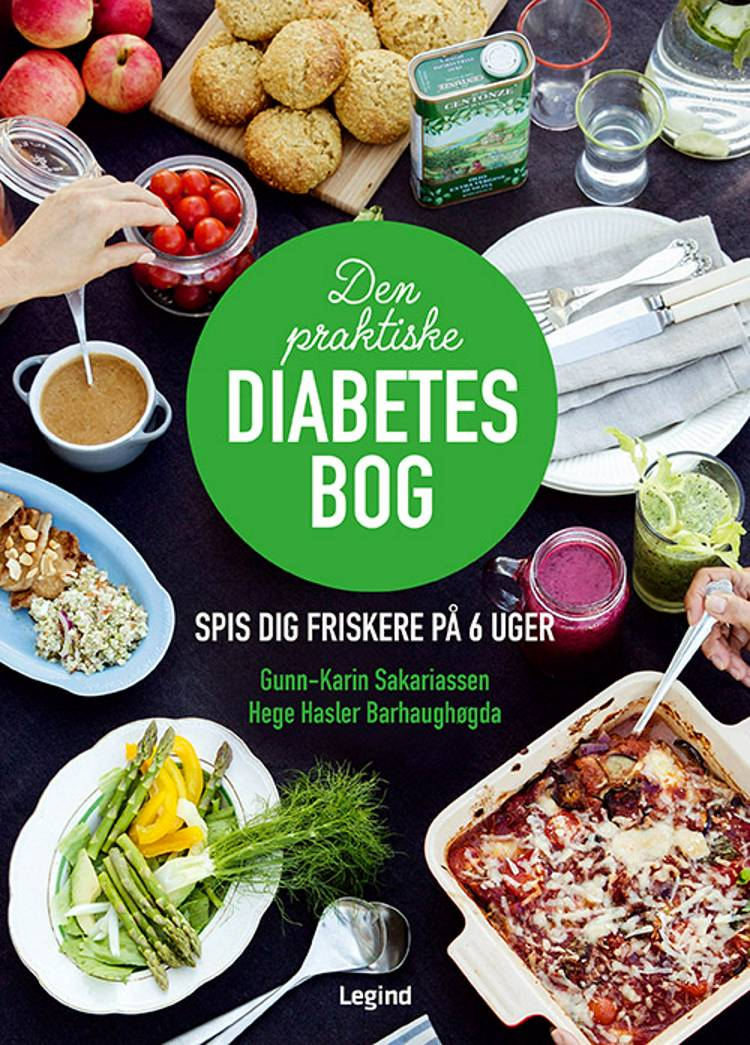 Den praktiske diabetesbog af Hege Hasler Barhaughøgda og Gunn-Karin Sakariassen