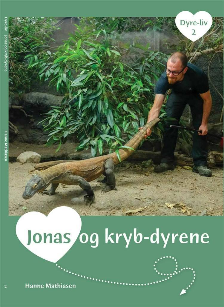 Jonas og krybdyrene af Hanne Mathiasen
