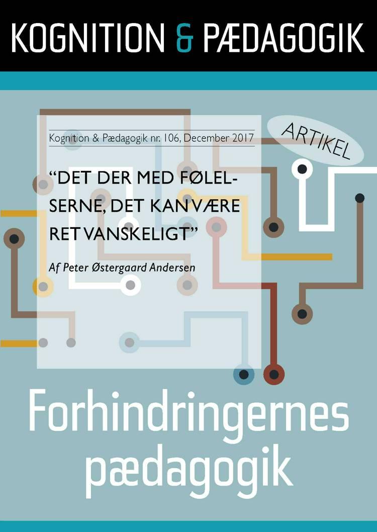Det der med følelserne, det kan være ret vanskeligt af Peter Østergaard Andersen