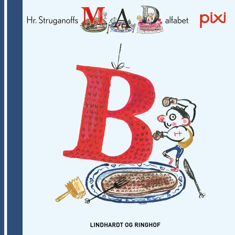 Pixi- Hr. Struganoff madalfabet B af Kim Fupz Aakeson