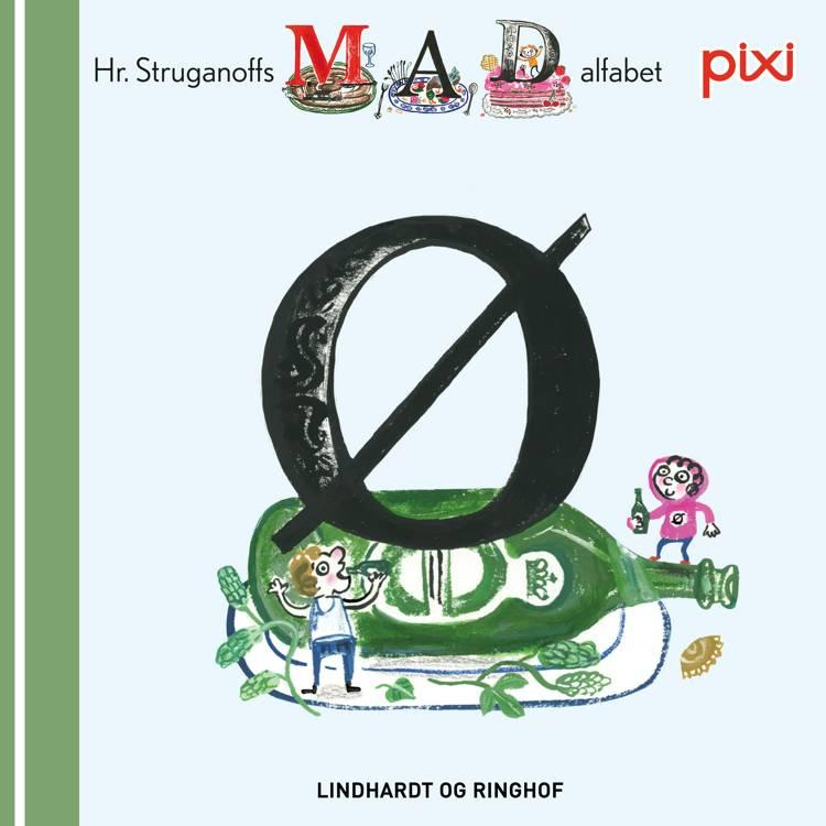 Pixi- Hr. Struganoff madalfabet Ø af Kim Fupz Aakeson