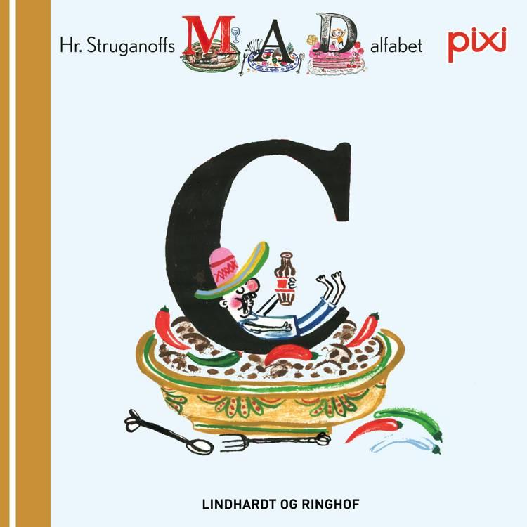 Pixi- Hr. Struganoff madalfabet C af Kim Fupz Aakeson