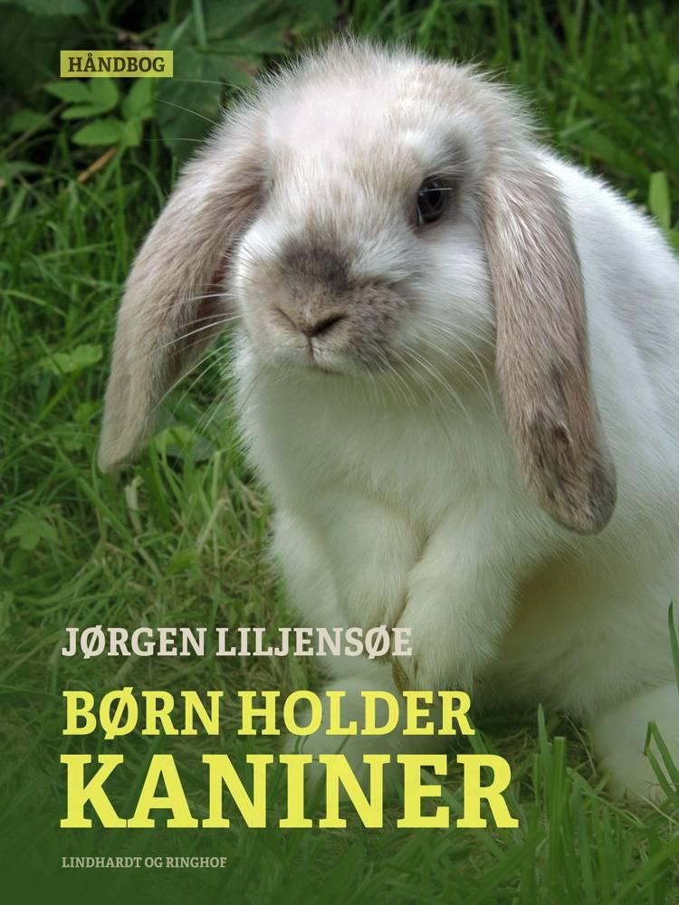 Børn holder kaniner af Jørgen Liljensøe