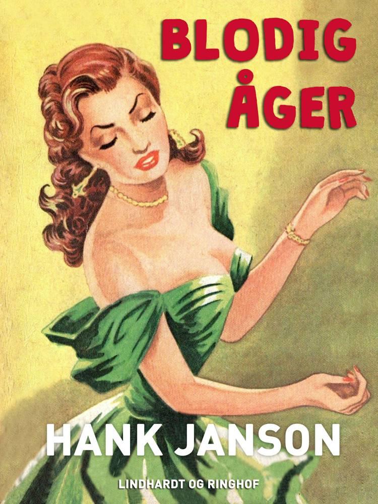 Blodig åger af Hank Janson